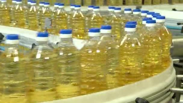 Řádek pro plnění rostlinných olejů