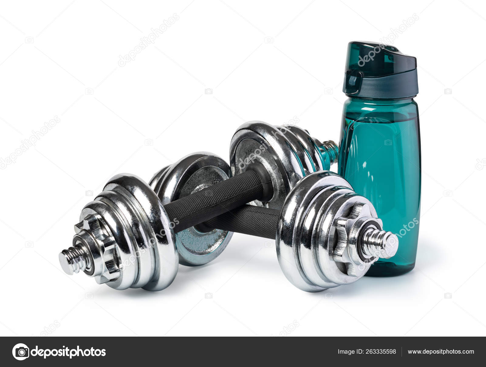 Обои Вода, бутылка, гантели, яблоки. Спорт foto 11