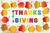 Fotografie Thanksgiving greetings card holidays celebrations