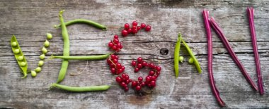 Vegan food. Organic life