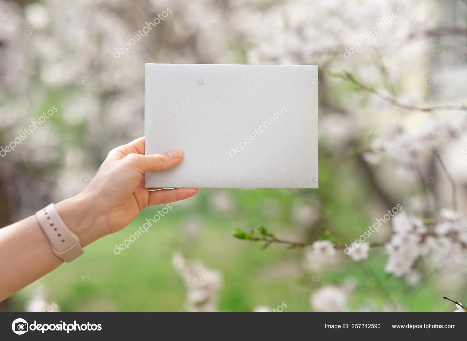 Tarjetas Invitación Boda Sobres Artesanales Flores Rosas