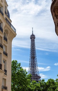 Eiffel Tower as seen from Square Rapp - Paris, France