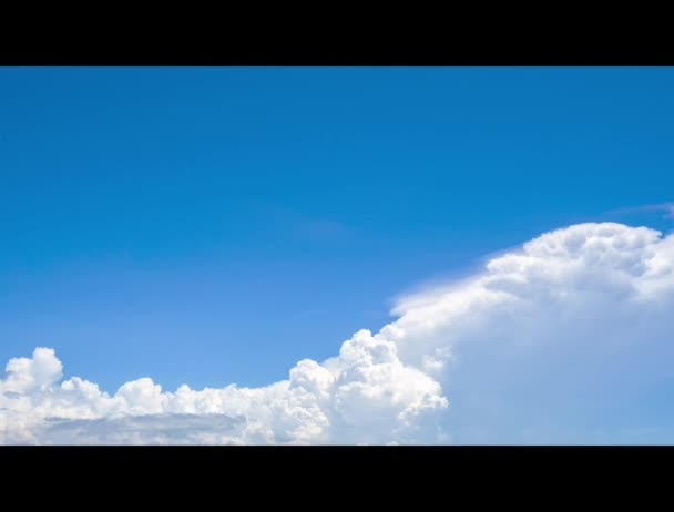Time Lapse Of Blue Sky And White Cumulus Clouds Abstract Background Cloudy Sky Blue Sky And Fluffy White Clouds On Sunny Day Nature Weather Bright Day Sky For Happy Day Background