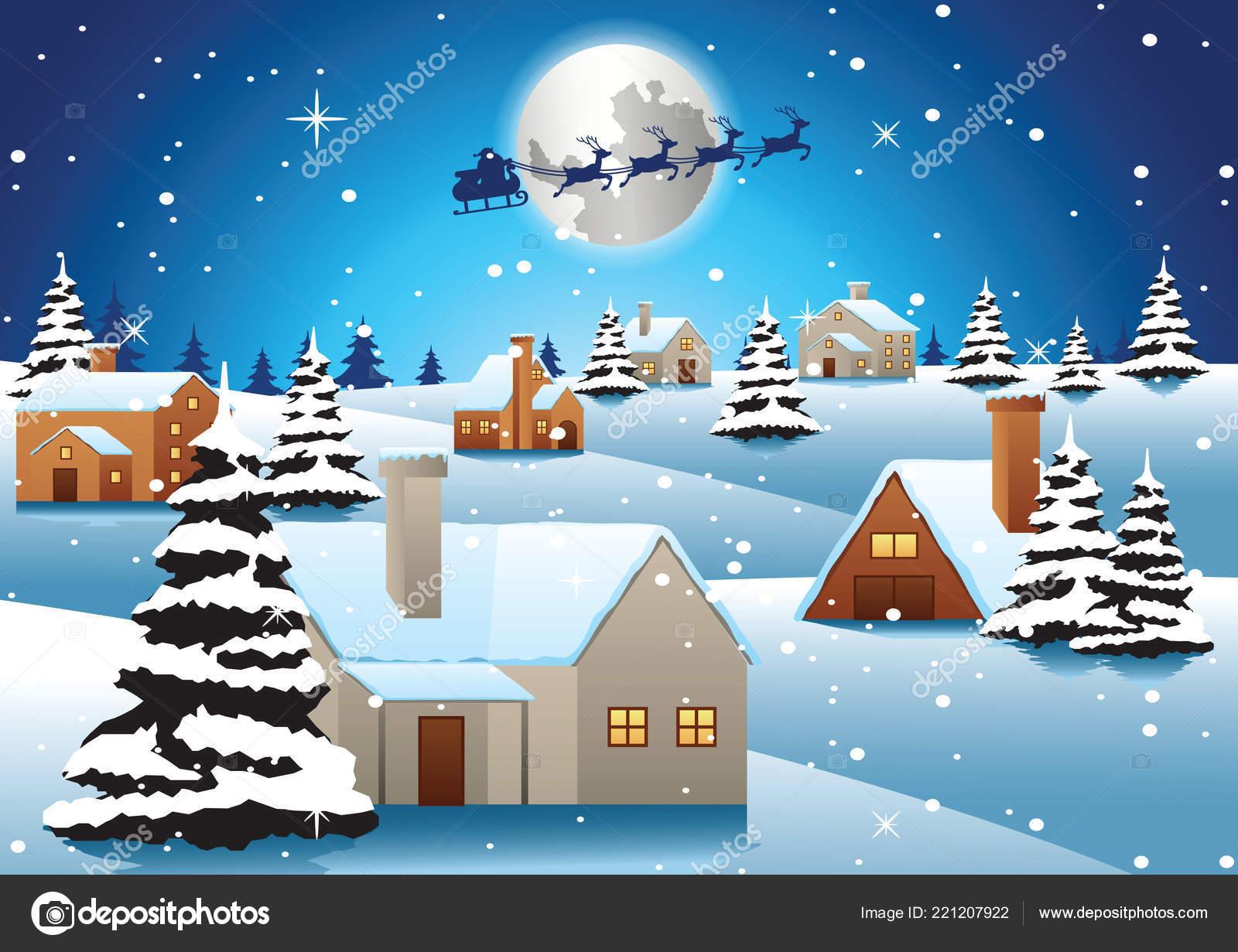 挨拶雪だるま イラスト ベクター 美しい クリスマス 風景 Wwwgazoitcom