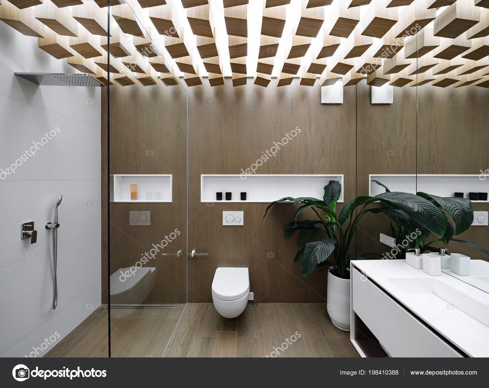 Badezimmer im modernen Stil — Stockfoto © bezikus #198410388