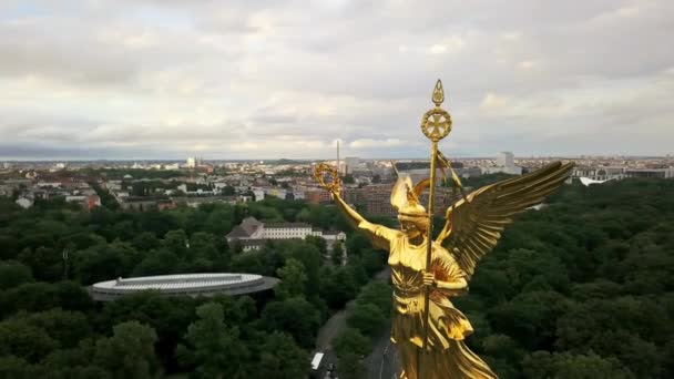 Shiny Victory Column in Berlin