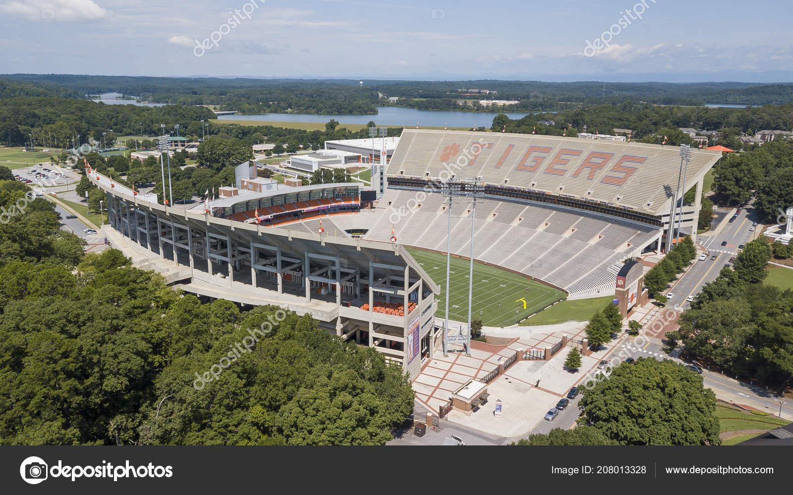 August 2018 Clemson South Carolina Usa Frank Howard Field ...