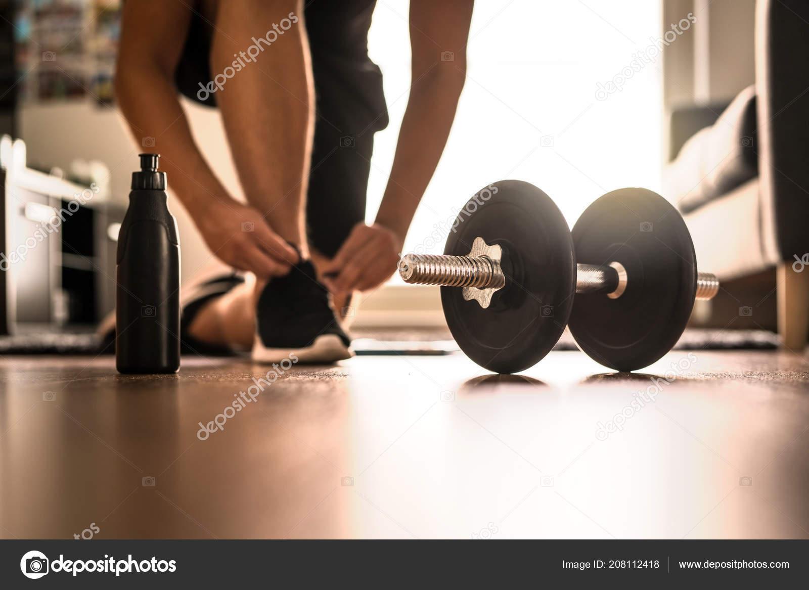 Ejercicios gym en casa