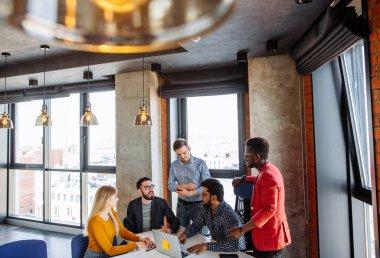 Corporate Teamwork, Brainstorming Togetherness Concept