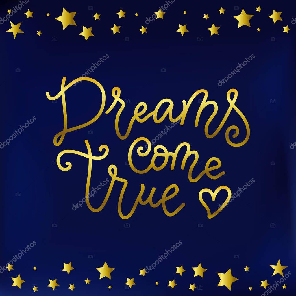 Greeting Postcard STAR DREAMS