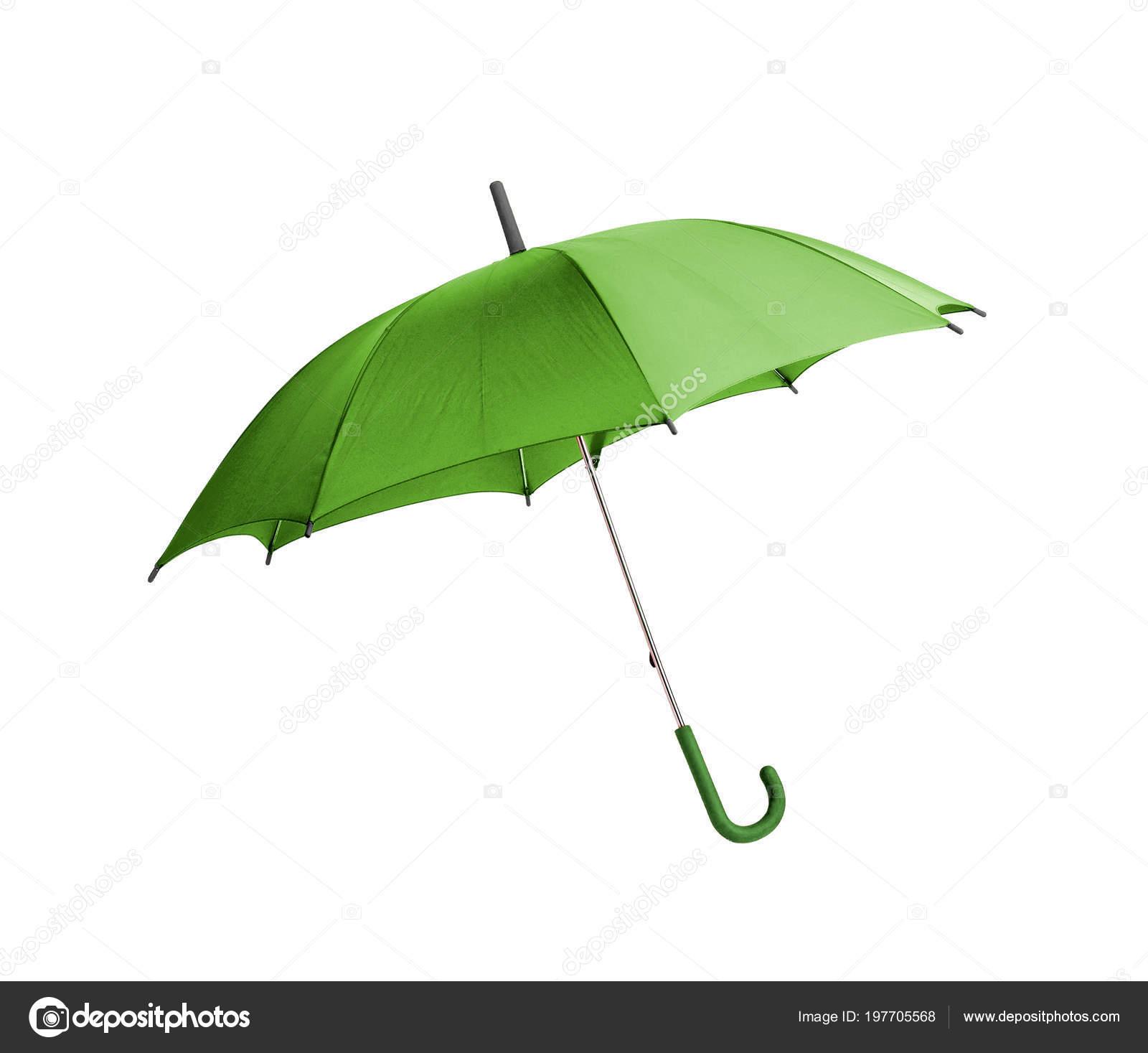 Tienda online amplia gama niño Paraguas Verde Aislado Sobre Fondo Blanco — Foto de stock ...