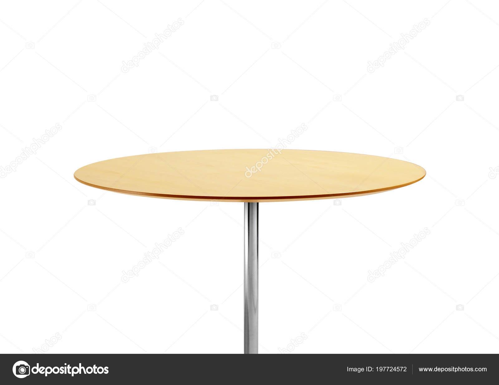 Ronde tafel geïsoleerd witte achtergrond u2014 stockfoto © ozaiachinn