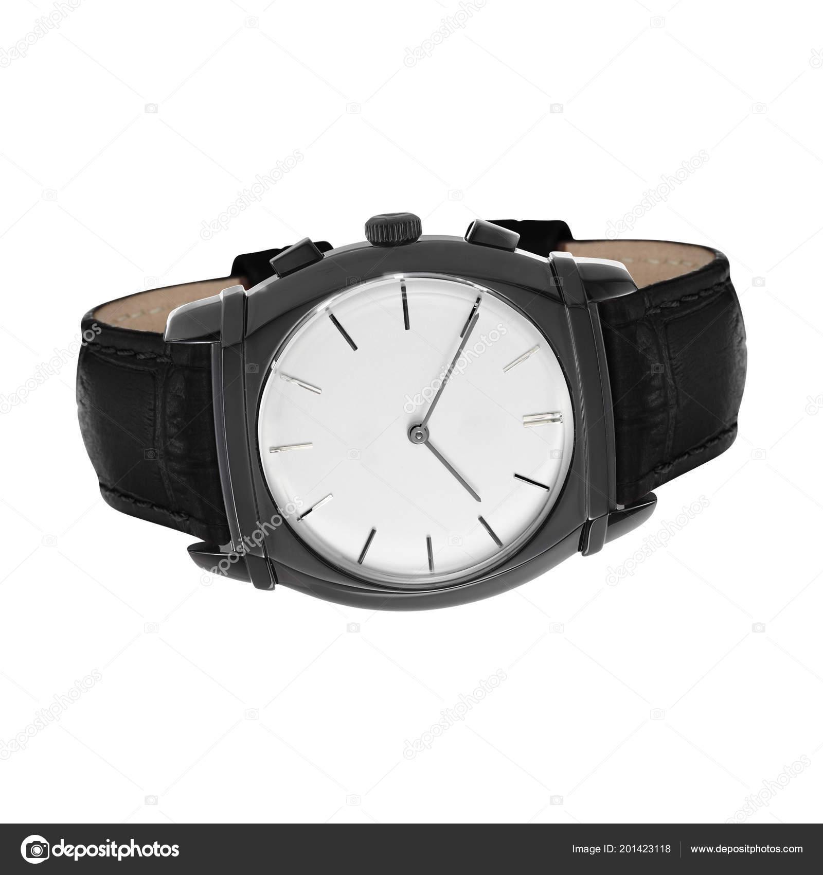 a314b5b82ca5 Reloj Pulsera Hombres Aislado Blanco — Fotos de Stock © ozaiachinn ...