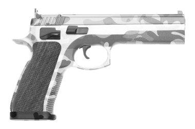 automatic pistol handgun object