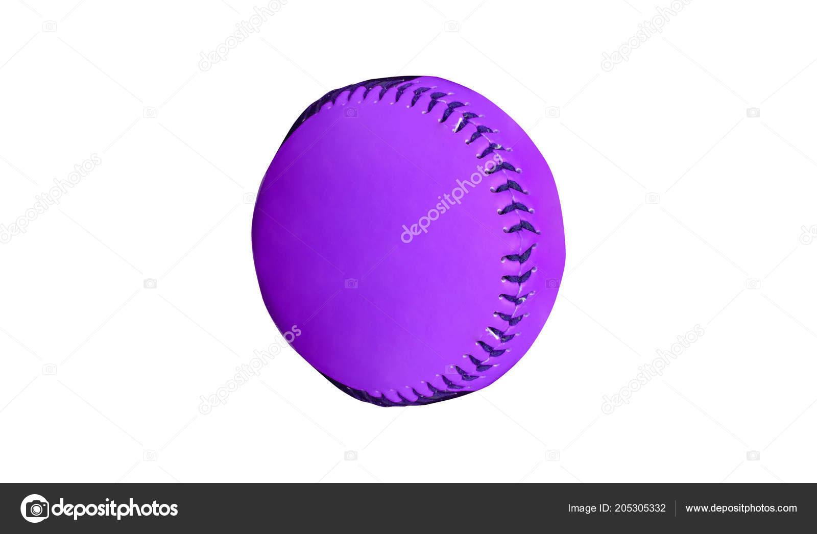 Soft sgabello viola isolato sfondo bianco primi piani u foto stock