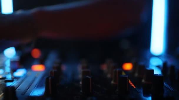 Zenei háttér Dj Night Club Deejay lejátszó