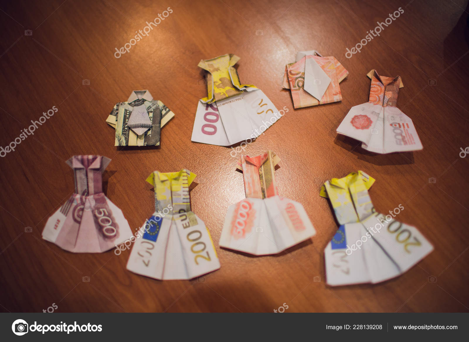 money origami dress 2 - DO NOT FOLLOW LINK - USE DIAGRAM ONLY ...   1167x1600