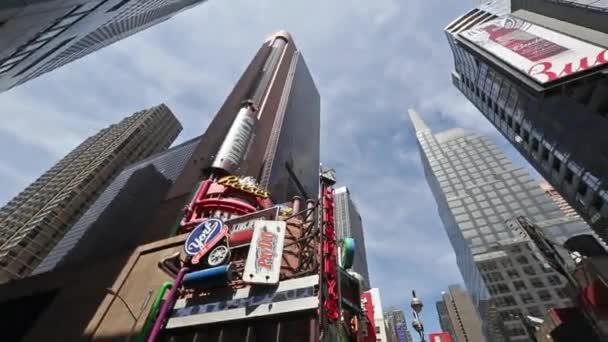 New york, New york,Usa. September 2th, 2016: Skyscrapers near Times Square in New York City