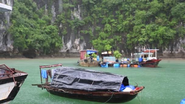 Ha Long Bay VietnamView of Halong Bay, Hang Sung Sot cave harbour