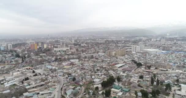 Cityscape of the Tajik capital - Dushanbe. Tajikistan, Central Asia.