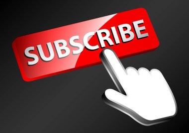 push button subscribe illustration