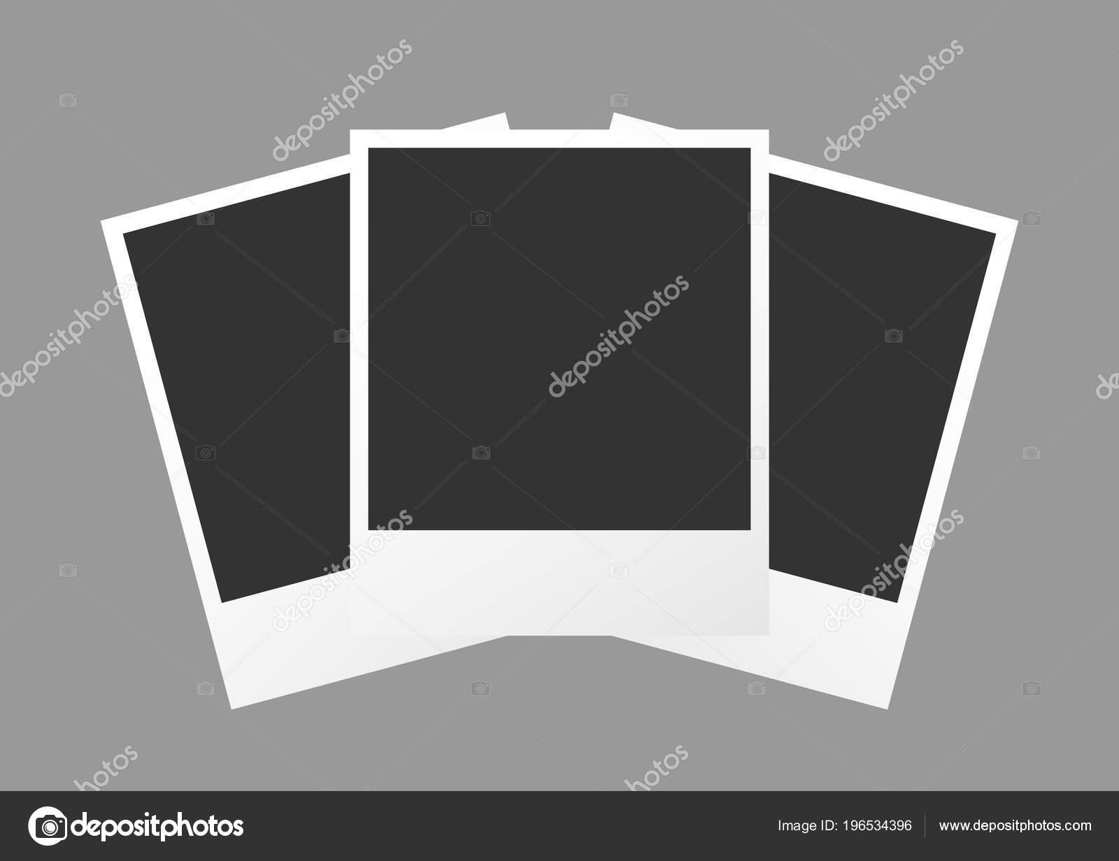 Polaroid Photo Boot Template — Stock Vector © AR_twork #196534396