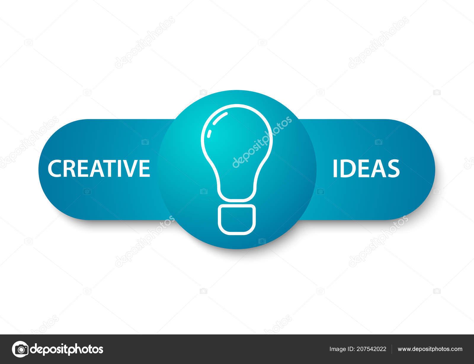 Idea Creative Banner Design — Stock Vector © AR_twork #207542022