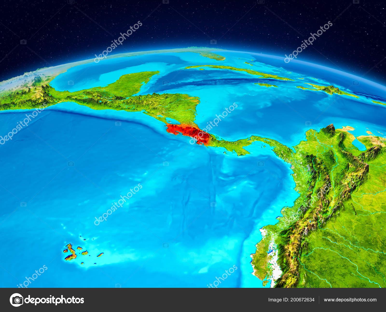 Satellite View Costa Rica Highlighted Red Planet Earth ... on iran satellite, central america satellite, vietnam satellite, caribbean satellite, american samoa satellite, tahiti satellite, cuba satellite, australia satellite, england satellite, argentina satellite, new zealand satellite, honduras satellite, united states satellite, barbados satellite, papua new guinea satellite, somalia satellite, latin america satellite, north america satellite, florida satellite, sri lanka satellite,