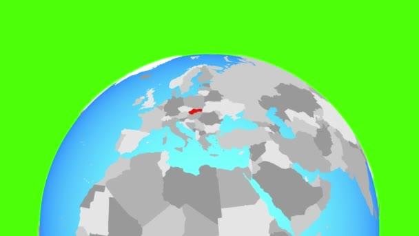 Slovensko na zeměkouli