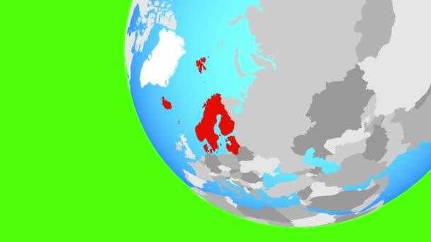 Přiblížení severní Evropy