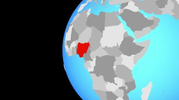Schluss mit Nigeria auf blauer Welt
