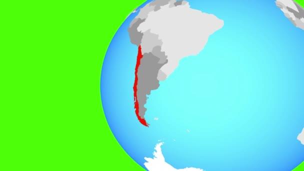 Zárás Chilében a kékföldön