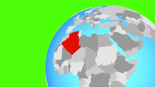 Zoom to Algeria