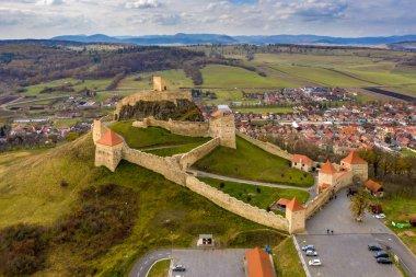 Rupea citadel near Brasov, Romania
