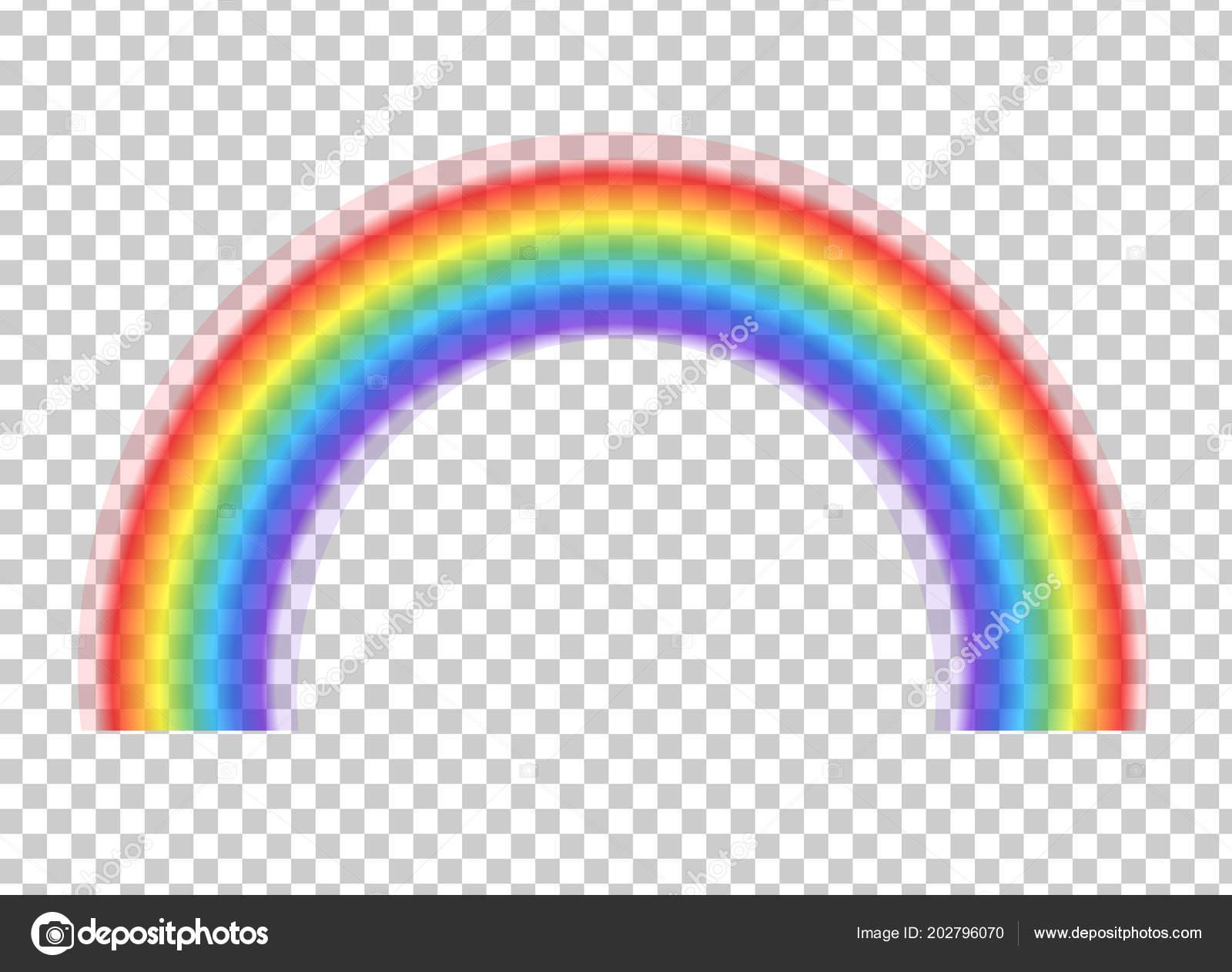 rainbow icon isolated transparent background spectrum fantasy