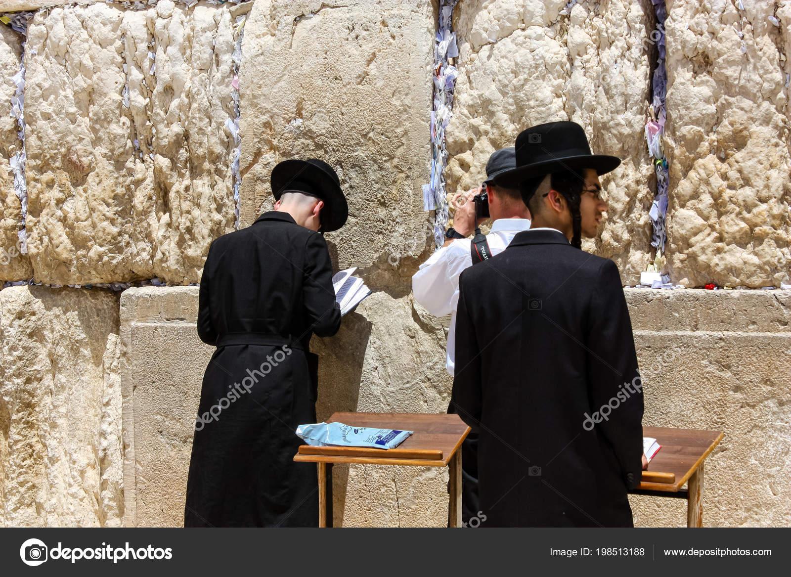 Gerusalemme Israele Maggio 2018 Vista Incognite Religiosi