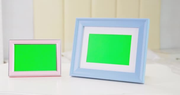 close up of photo frame