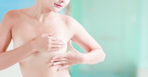Brustkrebs-Selbstcheck-Konzept