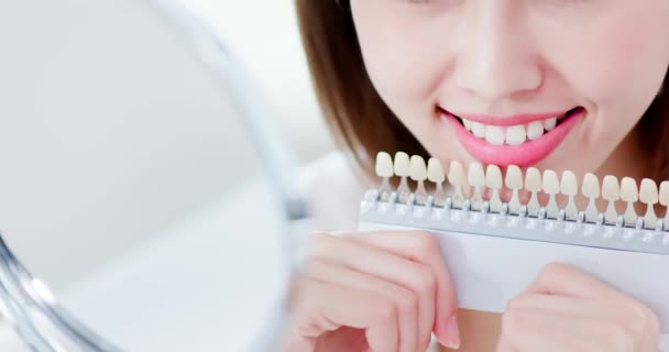 Teeth whiten concept