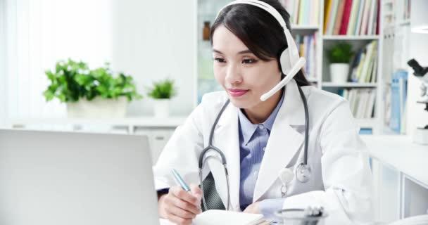Telemedicine concept - doctor part