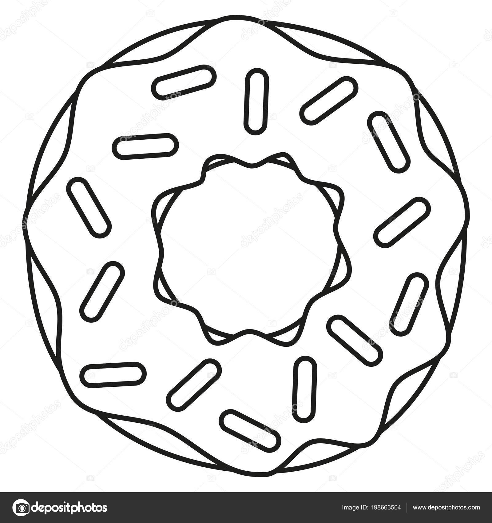 malvorlagen donut | Coloring and Malvorlagan