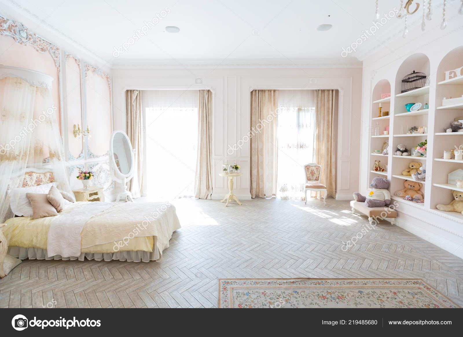 Vintage Baby Bedroom Interior Design Light Furniture Stock Photo Image By C Nokia Alexnet 219485680