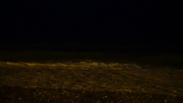 night waves on the black sea