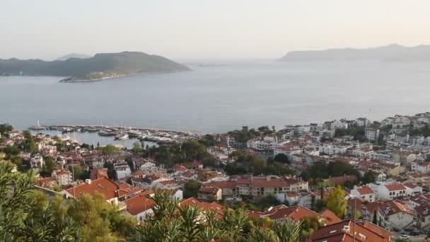 Panorama z Turecko Alanya - pohled z vrcholu