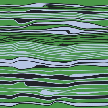 Seamless abstract pattern with colorful waves