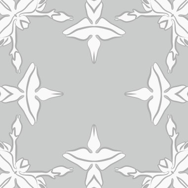 Seamless pattern of abstract simple fractals