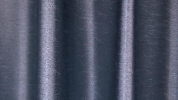 Modrá vlnitá opona hladká výstřelová střela