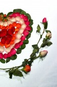 Romantic decoration for perfect couple/valentines day