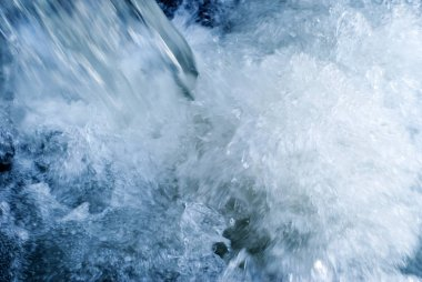 abstract background - stormy water stream