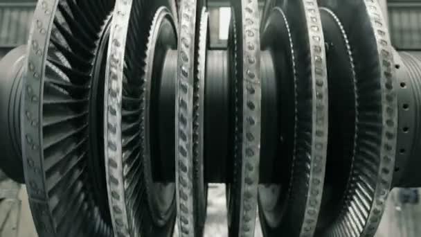 Čelní záběr vyvažování stroje parní turbína